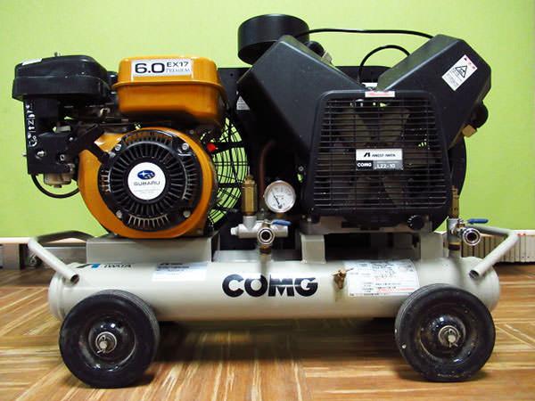 アネスト岩田 エンジンコンプレッサー PLUシリーズ PLUE22B-10 買取