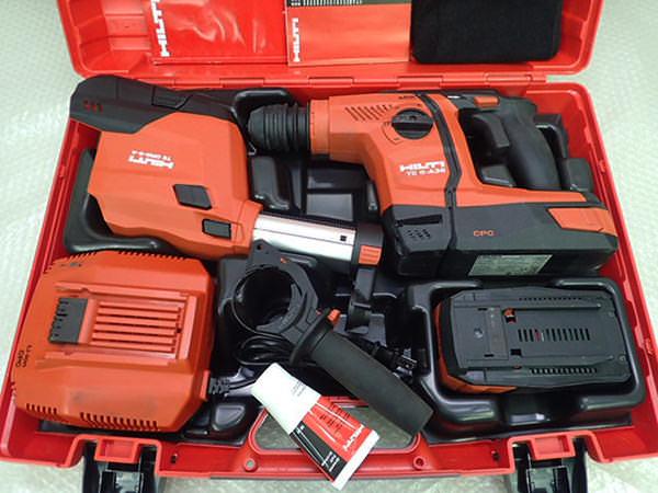 ヒルティ 充電式ロータリハンマードリル TE6-ADRS TE6-A36 集塵機能付き TE DRS-6-A 買取