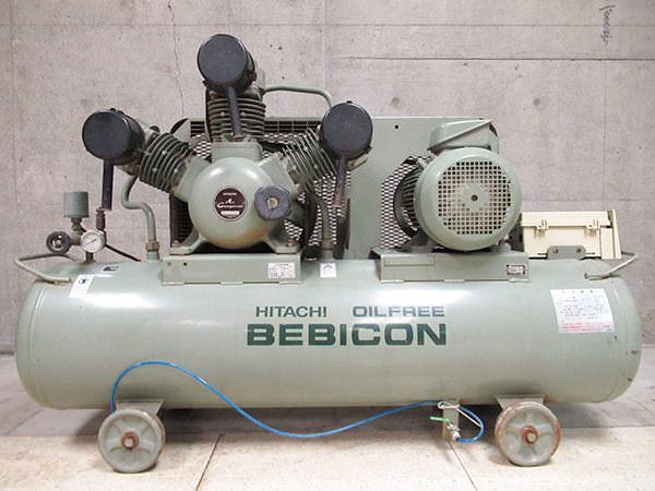 日立工機 コンプレッサー ベビコン 5.50P-9.5G5 5.5kw 7.5馬力 容量170L 三相 50Hz 買取