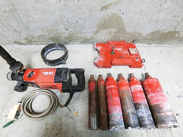 ヒルティ ダイヤモンドコアドリル DD130 DD-LR-VBP 買取