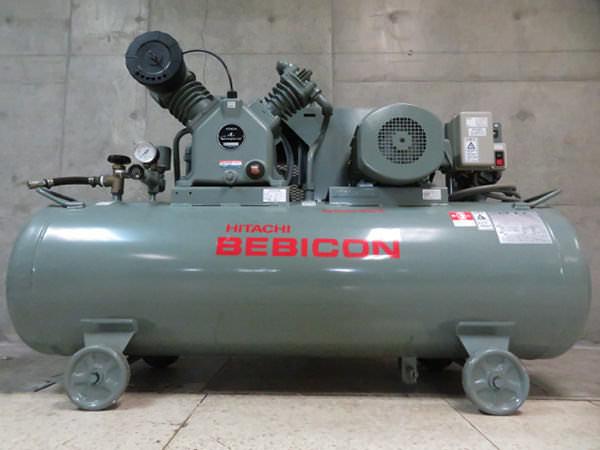 HIKOKI 日立工機 コンプレッサー 3.7P-14VP5 50Hz ベビコン 5馬力 レシプロ 買取