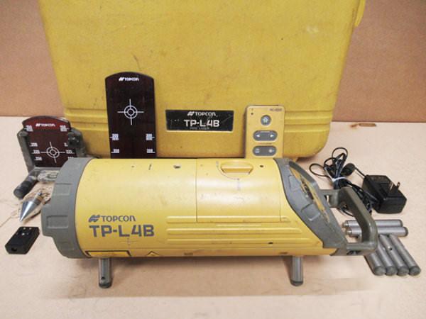 TOPUCON トプコン パイプレーザー TP-L4B 買取
