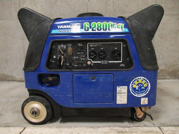 ヤンマー インバーター発電機 G2800iSE
