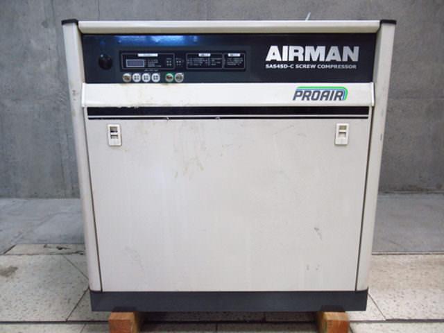 北越工業 エアマンコンプレッサー SAS4SD-5C 買取