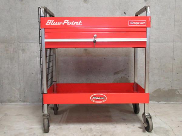 Blue-Point ブルーポイント 工具箱 ツールボックス ツールカート 赤 レッド 買取