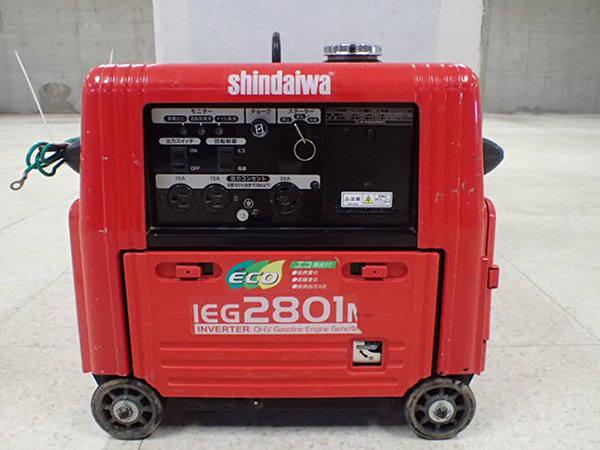 新ダイワ インバータ 発電機 IEG2801M 買取