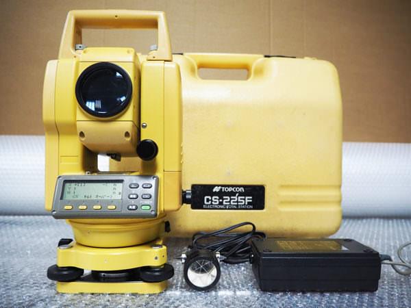 TOPCON トプコン 電子トータルステーション CS-225F 買取